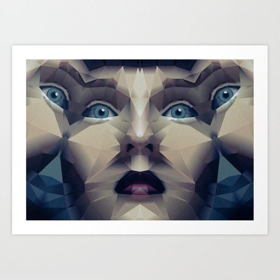 Facet_CD2 Art Print