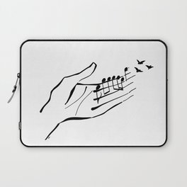 Sounds of nature Laptop Sleeve