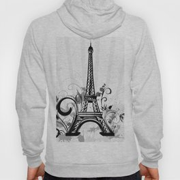 Eiffel Tower Paris France Hoody