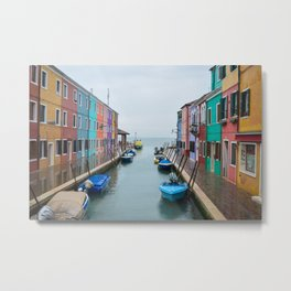 Colors in the Sea Metal Print