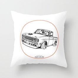 Crazy Car Art 0188 Throw Pillow