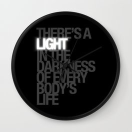 There's A Light! - the RHPS Wall Clock