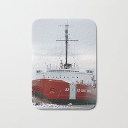 USCG Cutter Mackinaw 83 Bath Mat