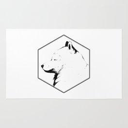 Canine Republic : Samoyed Rug