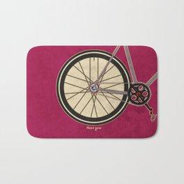 Single Speed Bicycle Bath Mat