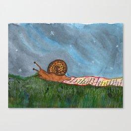 Tli cuenta historias Canvas Print