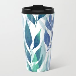 Leafage #02 Metal Travel Mug