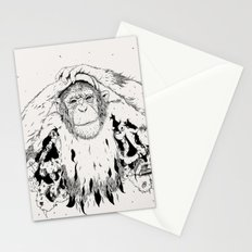 In the shadow of Man Stationery Cards