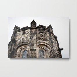 Edinburgh Castle Tower Metal Print