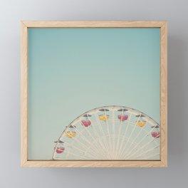 ferris wheels ... Framed Mini Art Print