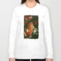 django Long Sleeve T-shirts featuring Django fanart - digital painting  by Thubakabra