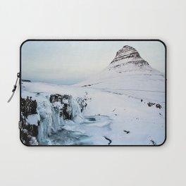 Kirkjufell Waterfall Laptop Sleeve