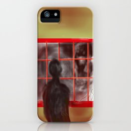 Mr Scary iPhone Case
