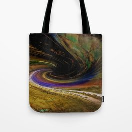 The winding road to the other side Tote Bag