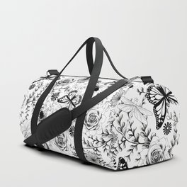 Butterflies And Bees Duffle Bag