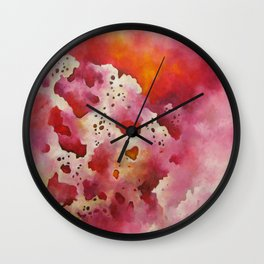 Biomorphic Untitled 1 Wall Clock