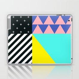 Memphis pattern 90 Laptop & iPad Skin
