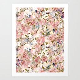 Beginnings & Butterflies Art Print