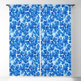 Forget-me-not Flowers White Background #decor #society6 #buyart Blackout Curtain