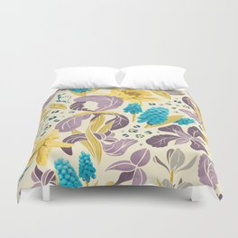Spring Flower Field Duvet Cover