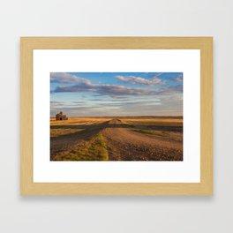 Grain Elevator 22 Framed Art Print