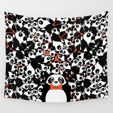 PANDA! PANDA! PANDA! Wall Tapestry
