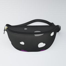 Chaotic Hearts, Pride Flag Series: Asexual Fanny Pack
