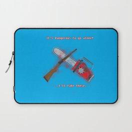 Evil Dead: It's Dangerous to go alone! Laptop Sleeve