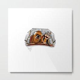 Millenium Balcon-y Metal Print