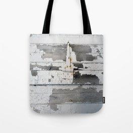Hinge on Vintage Door Tote Bag