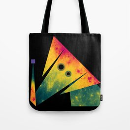 Elephant Exploring Space Tote Bag