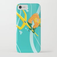 aquaman iPhone & iPod Cases featuring King of Atlantis by joshWenrick
