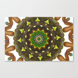 Radiate 005, Closer Canvas Print
