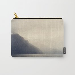 Foggy Fjord, North Sea Carry-All Pouch