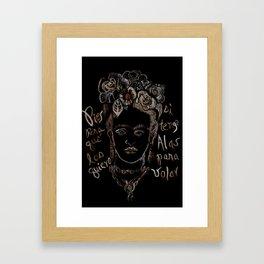 Frida 02 Framed Art Print