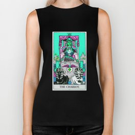 7. The Chariot- Neon Dreams Tarot Biker Tank
