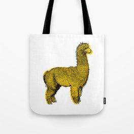 huacaya alpaca Tote Bag