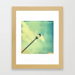 Lantern Pop Framed Art Print