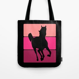3 Tone Horse Tote Bag