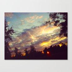 dusk Canvas Print