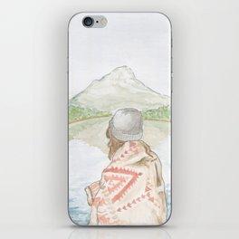 Mornings at the Lake iPhone Skin