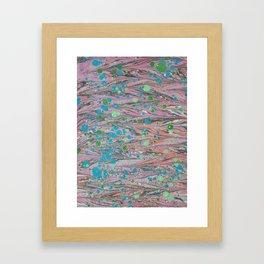 Marble Print #40 Framed Art Print