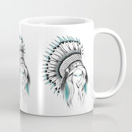 Indian Headdress Coffee Mug
