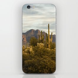The Superstition Mountains iPhone Skin