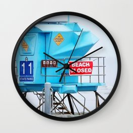 It was an early, Sunday morning.  Wall Clock