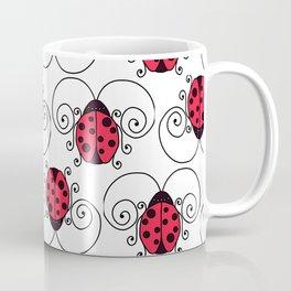 ladybug stripe Coffee Mug