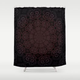 Pure Evil Pansies - Fall 2018 Shower Curtain