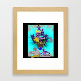 The Janitorial Staff Framed Art Print