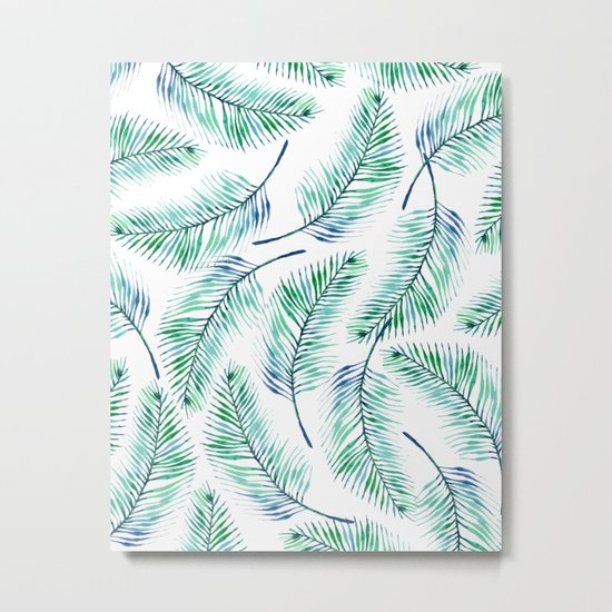Palms #society6 #decor #buyart Metal Print