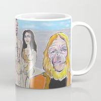planet of the apes Mugs featuring Planet of the Apes by Robert E. Richards